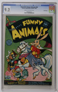 Golden Age (1938-1955):Funny Animal, Fawcett's Funny Animals #63 Crowley Copy pedigree (Fawcett, 1949) CGC NM- 9.2 Cream to off-white pages. The only issue on th...