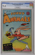 Golden Age (1938-1955):Funny Animal, Fawcett's Funny Animals #69 Crowley Copy pedigree (Fawcett, 1951)CGC NM 9.4 Cream to off-white pages. Only copy on the curr...