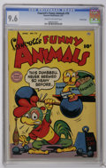 Golden Age (1938-1955):Funny Animal, Fawcett's Funny Animals #70 Crowley Copy pedigree (Fawcett, 1951)CGC NM+ 9.6 Cream to off-white pages. The only CGC-graded ...