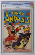 Golden Age (1938-1955):Funny Animal, Fawcett's Funny Animals #71 Crowley Copy pedigree (Fawcett, 1951)CGC VF/NM 9.0 Off-white pages. Overstreet 2006 VF/NM 9.0 v...