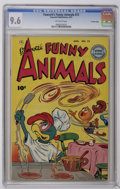 Golden Age (1938-1955):Funny Animal, Fawcett's Funny Animals #72 Crowley Copy pedigree (Fawcett, 1951)CGC NM+ 9.6 Off-white pages. Overstreet 2006 NM- 9.2 value...
