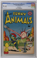 Golden Age (1938-1955):Funny Animal, Fawcett's Funny Animals #75 Crowley Copy pedigree (Fawcett, 1952)CGC NM 9.4 Off-white pages. Overstreet 2006 NM- 9.2 value ...