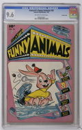 Golden Age (1938-1955):Funny Animal, Fawcett's Funny Animals #76 Crowley Copy pedigree (Fawcett, 1952)CGC NM+ 9.6 Off-white to white pages. Overstreet 2006 NM- ...