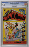 Golden Age (1938-1955):Funny Animal, Fawcett's Funny Animals #77 Crowley Copy pedigree (Fawcett, 1952)CGC NM 9.4 Cream to off-white pages. Overstreet 2006 NM- 9...