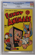 Golden Age (1938-1955):Funny Animal, Fawcett's Funny Animals #79 Crowley Copy pedigree (Fawcett, 1953)CGC NM+ 9.6 Off-white pages. Overstreet 2006 NM- 9.2 value...