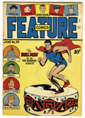 Golden Age (1938-1955):Superhero, Feature Comics #99 Mile High pedigree (Quality, 1946) Condition: VF/NM. Doll Man cover. Overstreet 2006 VF/NM 9.0 value = $1...