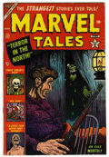 "Golden Age (1938-1955):Horror, Marvel Tales #117 Davis Crippen (""D"" Copy) pedigree (Atlas, 1953)Condition: FN+. Bill Everett cover. Gil Kane art. Overstre..."