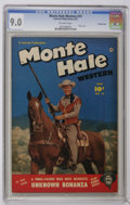 Golden Age (1938-1955):Western, Monte Hale Western #73 Crowley Copy pedigree (Fawcett, 1952) CGC VF/NM 9.0 Off-white pages. Photo cover. Gabby Hayes appeara...