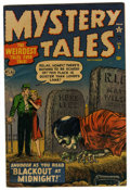 "Golden Age (1938-1955):Horror, Mystery Tales #5 Davis Crippen (""D"" Copy) pedigree (Atlas, 1952)Condition: GD. Overstreet 2006 GD 2.0 value = $40. From t..."