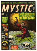 "Golden Age (1938-1955):Horror, Mystic #13 Davis Crippen (""D"" Copy) pedigree (Atlas, 1953)Condition: FN. Bill Everett cover. Overstreet 2006 FN 6.0 value=..."