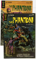 Silver Age (1956-1969):Adventure, Phantom #2 and 3 Group (Gold Key, 1963). Includes #2 (King, Queen, and Jack begin - VG) and #3 (VF). Both have painted cover... (Total: 2 Comic Books)