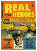 Golden Age (1938-1955):War, Real Heroes Comics #5 Mile High pedigree (Parents' MagazineInstitute, 1942) Condition: VF/NM. A unique Mile High book. Over...