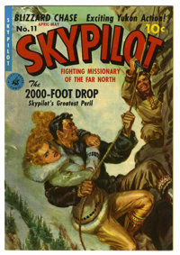 Skypilot #11 Mile High pedigree (Ziff-Davis, 1951) Condition: NM. Norman Saunders painted cover. Overstreet 2006 NM- 9.2...