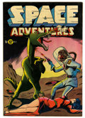 "Golden Age (1938-1955):Science Fiction, Space Adventures #2 Davis Crippen (""D"" Copy) pedigree (Charlton,1952) Condition: FN-. Dick Giordano art. Overstreet 2006 FN..."