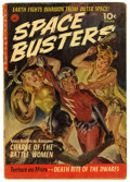 Golden Age (1938-1955):Science Fiction, Space Busters #1 (Ziff-Davis, 1952) Condition: GD/VG. NormanSaunders painted cover. Bernie Krigstein art. Overstreet 2006 G...