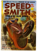Golden Age (1938-1955):Miscellaneous, Speed Smith - The Hot Rod King #1 (Ziff-Davis, 1952) Condition: VG+. Norman Saunders painted cover. Overstreet 2006 VG 4.0 v...