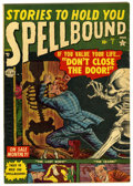 "Golden Age (1938-1955):Horror, Spellbound #7 Davis Crippen (""D"" Copy) pedigree (Atlas, 1952)Condition: FN. Art by Bill Everett and Joe Maneely. Overstreet..."