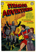 "Golden Age (1938-1955):Science Fiction, Strange Adventures #13 Davis Crippen (""D"" Copy) pedigree (DC, 1951)Condition: FN-. Gil Kane cover. Alex Toth, Murphy Anders..."