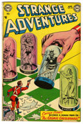 """Golden Age (1938-1955):Science Fiction, Strange Adventures #35 Davis Crippen (""""D"""" Copy) pedigree (DC, 1953)Condition: FN. Murphy Anderson cover. Art by Anderson, G..."""