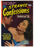 Golden Age (1938-1955):Romance, Strange Confessions #3 (Ziff-Davis, 1952) Condition: FN+. Listed as#3 on the cover and as #2 in the indicia. Contains a Ref...