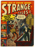 "Golden Age (1938-1955):Horror, Strange Tales #9 Davis Crippen (""D"" Copy) pedigree (Marvel, 1952)Condition: VG+. Bob Fujitani art. Overstreet 2006 VG 4.0 v..."