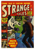 "Golden Age (1938-1955):Horror, Strange Tales #13 Davis Crippen (""D"" Copy) pedigree (Marvel, 1952)Condition: FN/VF. Cover by Bill Everett. Overstreet 2006 ..."