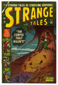 "Golden Age (1938-1955):Horror, Strange Tales #22 Davis Crippen (""D"" Copy) pedigree (Marvel, 1953)Condition: FN. Bernie Krigstein, John FOote, and Jack Abe..."