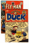 Golden Age (1938-1955):Funny Animal, Super Duck #42 Plus Bonus (Archie, 1952) Condition: VG/FN. As abonus, along with this Golden Age Archie issue of the funny ...(Total: 2 Comic Books)