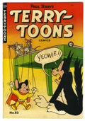 "Golden Age (1938-1955):Cartoon Character, Terry-Toons Comics #83 Davis Crippen (""D"" Copy) pedigree (St. John,1950) Condition: VF. Overstreet 2006 VF 8.0 value = $67...."
