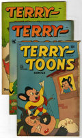 "Golden Age (1938-1955):Funny Animal, Terry-Toons Comics Davis Crippen (""D"" Copy) pedigree Group (St.John, 1947-53). Issues include #60 (GD) from the first St. J...(Total: 3 Comic Books)"