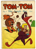 "Golden Age (1938-1955):Funny Animal, Tom-Tom, The Jungle Boy #2 Davis Crippen (""D"" Copy) pedigree(Magazine Enterprises, 1947) Condition: VG. Overstreet 2006 VG ..."