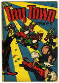 "Golden Age (1938-1955):Funny Animal, Toy Town Comics #1 Davis Crippen (""D"" Copy) pedigree (Toytown,1945) Condition: VG+. Featuring Mertie Mouse. Cover and art b..."