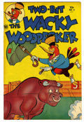 "Golden Age (1938-1955):Funny Animal, Two Bit The Wacky Woodpecker #2 Davis Crippen (""D"" Copy) pedigree(Toby Publishing, 1952) Condition: VF/NM. Overstreet 2006 ..."