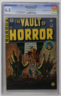 """Golden Age (1938-1955):Horror, Vault of Horror #15 Davis Crippen (""""D"""" Copy) pedigree (EC, 1950)CGC FN+ 6.5 Cream to off-white pages. Johnny Craig story, c..."""