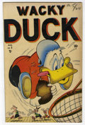 "Golden Age (1938-1955):Funny Animal, Wacky Duck #1 Davis Crippen (""D"" Copy) pedigree (Marvel, 1948) Condition: VF-. Overstreet 2006 VF 8.0 value = $89. From th..."