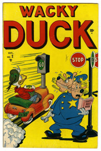 "Wacky Duck #2 Davis Crippen (""D"" Copy) pedigree (Marvel, 1948) Condition: VF-. Overstreet 2006 VF 8.0 value =..."