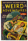 Golden Age (1938-1955):Horror, Weird Adventures #3 (P.L. Publishing Co., 1951) Condition: VF.Bizarre hypodermic needle/torture cover. Contains a severed h...