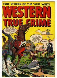 Western True Crime #3 Mile High pedigree (Fox Features Syndicate, 1948) Condition: VF/NM. Jack Kamen art. Overstreet 200...