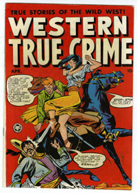 Western True Crime #5 Mile High pedigree (Fox Features Syndicate, 1949) Condition: VF+. Overstreet 2006 VF 8.0 value = $...