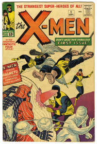 X-Men #1 (Marvel, 1963) Condition: VG. Here is a chance to own a key issue from the Silver Age of comics. This historic...