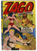 Golden Age (1938-1955):Adventure, Zago #1 (Fox Features Syndicate, 1948) Condition: GD+. Blue Beetleappearance. Overstreet 2006 GD 2.0 value = $61. From th...