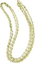 Estate Jewelry:Necklaces, Peridot, Gold Necklaces. ...