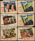 "Movie Posters:Adventure, Beau Geste / Her Jungle Love and Others Lot (Paramount, 1939).Lobby Cards (8) (10"" X 13"" & 11"" X 14"") & Portrait Photo(10""... (Total: 9 Items)"