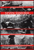 """Movie Posters:Foreign, The Seven Samurai (HVE, R-2002). Limited Edition Screen Print (26.5"""" X 39""""). Foreign.. ..."""