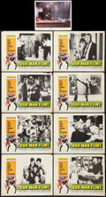 """Movie Posters:Adventure, Our Man Flint (20th Century Fox, 1966). Lobby Card Set of 8 (11"""" X14"""") and Photo (8"""" X 10""""). Adventure.. ... (Total: 9 Items)"""