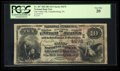 National Bank Notes:Pennsylvania, Chambersburg, PA - $10 1882 Brown Back Fr. 487 The Valley NB Ch. #(E)4272. ...