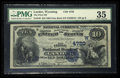 National Bank Notes:Wyoming, Lander, WY - $10 1882 Date Back Fr. 540 The First NB Ch. # (W)4720....