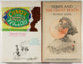 Books:Children's Books, Roald Dahl. Two Books, including: Charlie and the ChocolateFactory; James and the Giant Peach. New York: Alfred A. ...(Total: 2 Items)