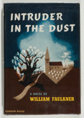 Books:Literature 1900-up, William Faulkner. Intruder in the Dust. NY: Random House,[1948]. First edition....