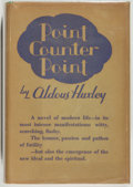 Books:Literature Pre-1900, Aldous Huxley. Point Counter Point. Garden City: Doubleday,Doran, and Company, 1928. First U. S. edition....